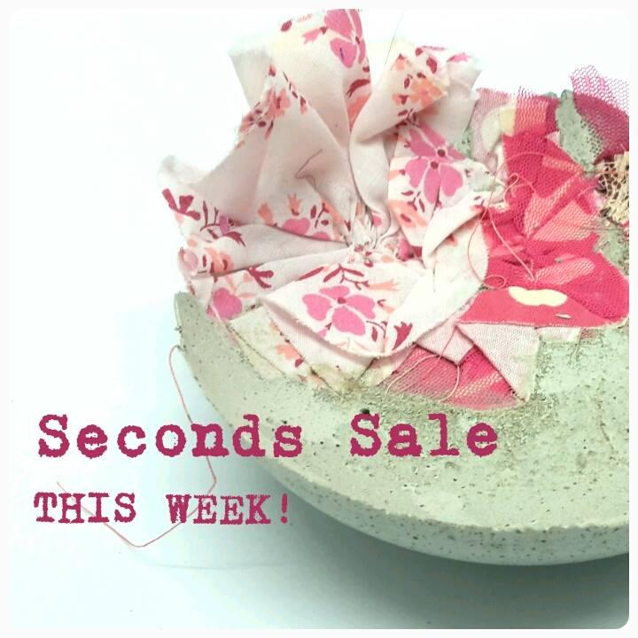 seconds sale 2